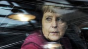 Germany's Chancellor Merkel arrives at a EU leaders summit in Brussels