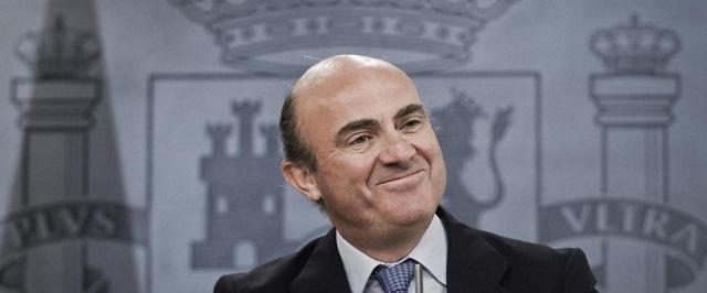 Minister Luis de Guindos