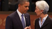 President Obama, IMF's Lagarde