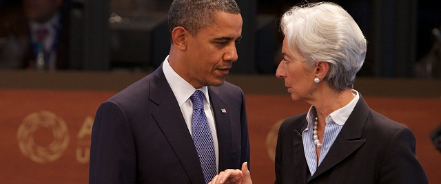 President Obama, IMF's Lagarde