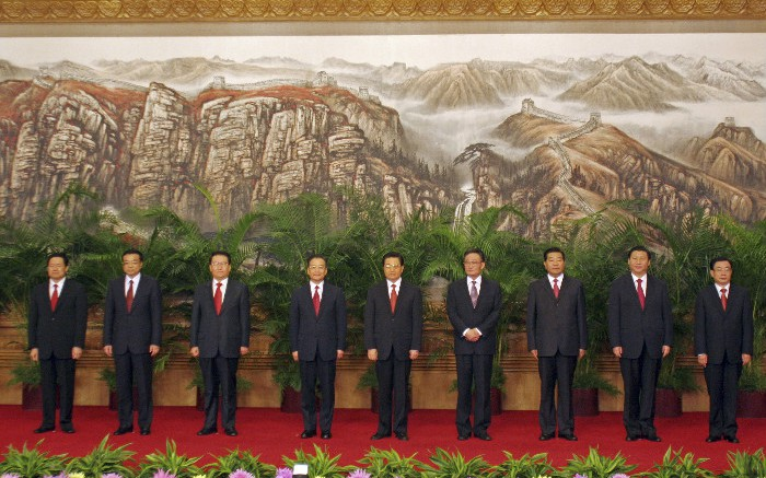 Politburo Standing Committee 20071