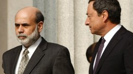 Federal Reserve's Bernanke and ECB's Draghi