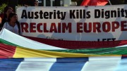 GREECE-DEBT-FINANCE-LABOUR-STRIKE-EUROPE
