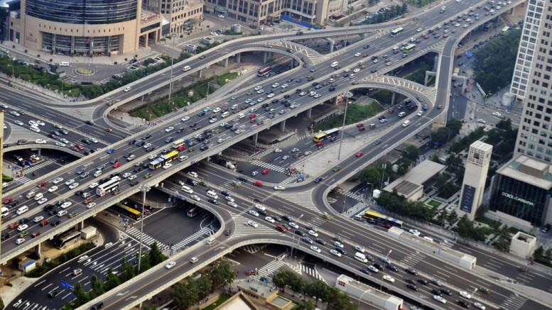 China roads