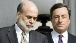 Ben Bernanke and Mario Draghi