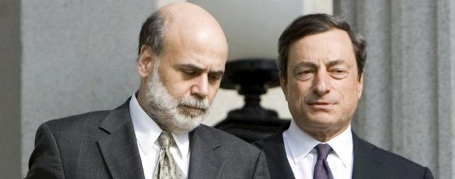 Ben Bernanke and Mario Draghi