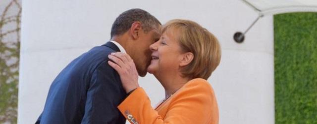 US President Obama in Germany.