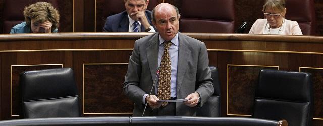 Spanish Economy minister De Guindos