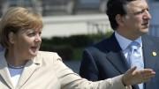Angela Merkel, JM Barroso