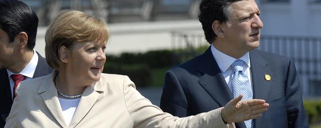 Angela Merkel JM Barroso
