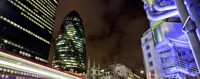 The financial City of London
