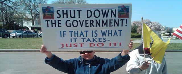 government shutdown copy