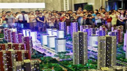 China deflating property bubble fears