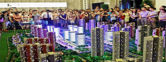 China deflating property bubble fears