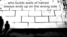 Our Weekly Cartoon Walls of hatred