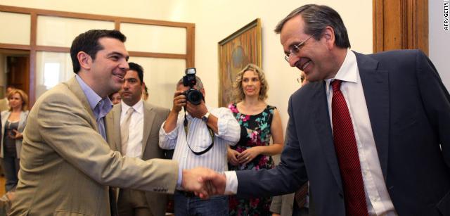 greek politicians