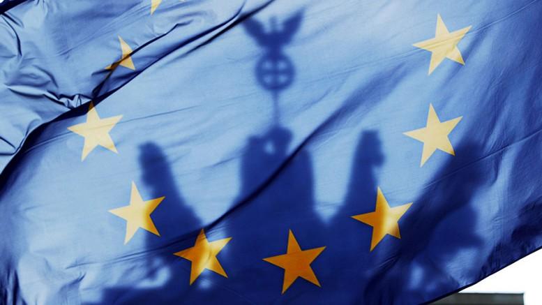 EU flag Berlin