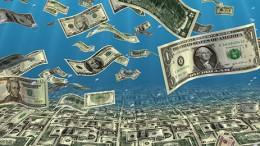 falling money wallpaper