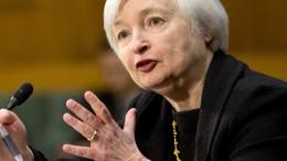 Fed's chairwoman Janet Yellen