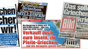 Covers from Bild Zeitung