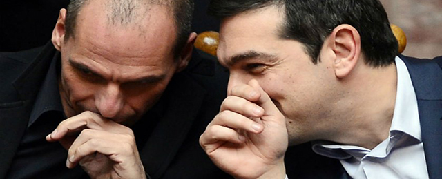 Tsipras and Varufakis