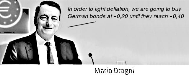 ECB's president Mario Draghi