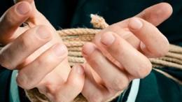 hands tiedTC