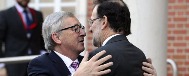 Juncker and Rajoy
