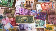 Different currencies' bank notes