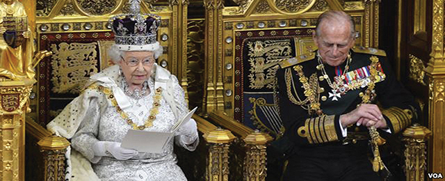 The UK Queen's speech