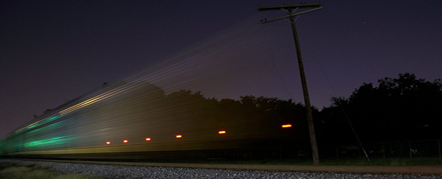A ghost train