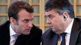 Macron and Gabriel