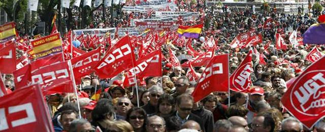 Spain unions