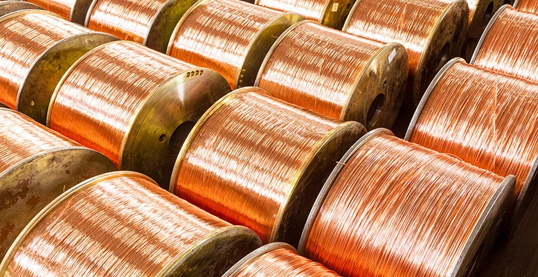 Commodities-Copper-wire