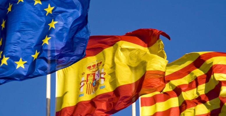banderasEspañaCataluñaTC