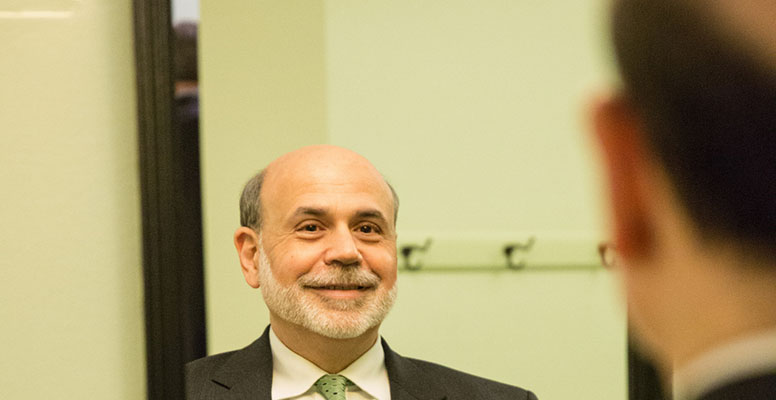 """Former Fed's chairman Ben Bernanke recently declared that he declared that """"in 2020 the coyote is going to leap off the precipice and is going to look down"""""""