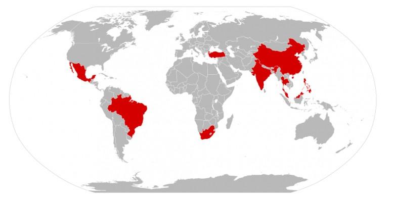 emerging countriesTC