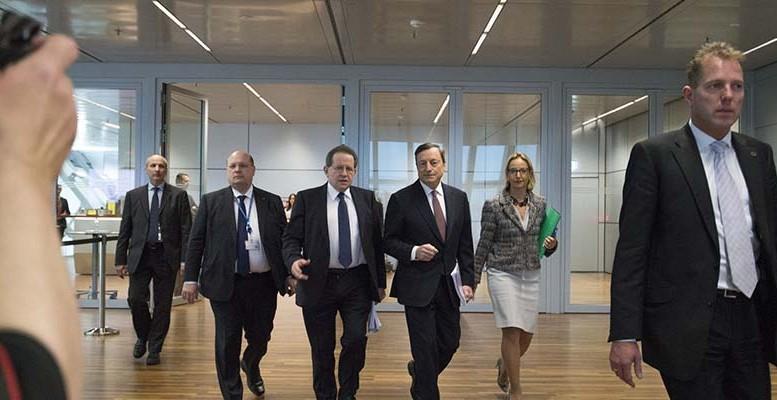 ECB walks