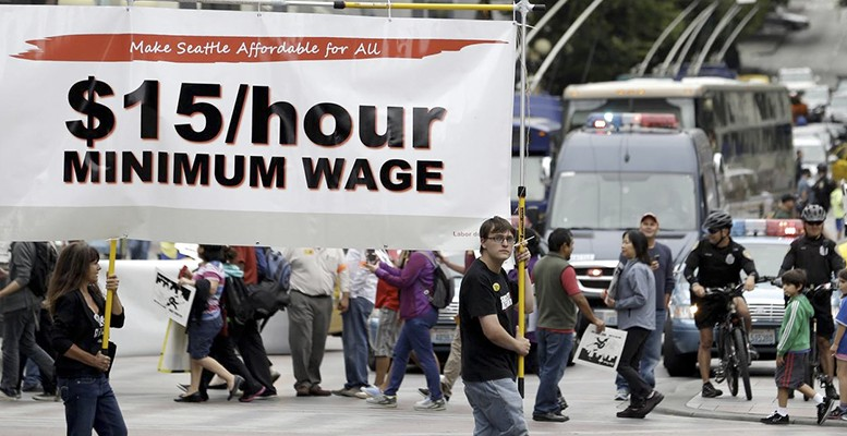 US wages