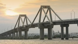 Pumarejo Bridge, Barranquilla (Colombia), developed by Sacyr