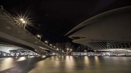 The City of Arts (Valencia) , designed by architect Santiago Calatrava