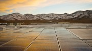 Black Rock Solar photovoltaic array at Food Bank of Northern Nev