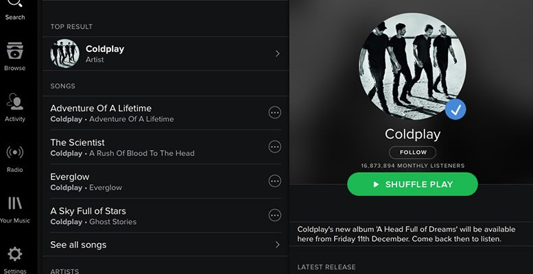 Spotify made its debut on Wall Street on Tuesday
