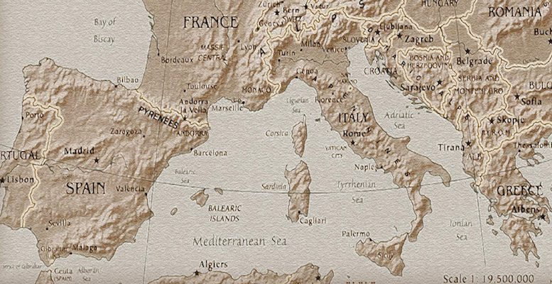 South_Europe_Map