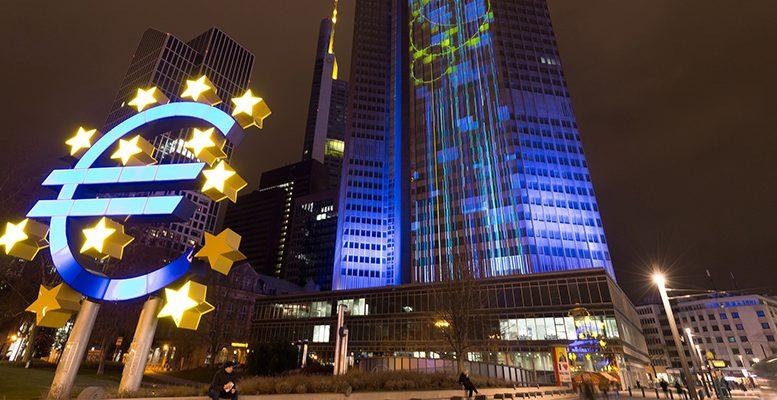ECB at night