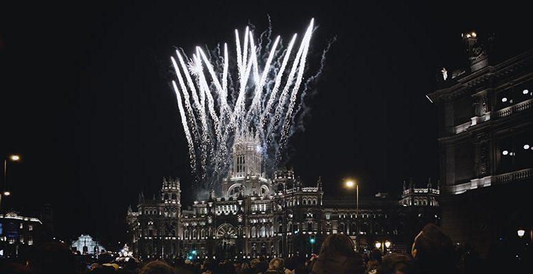 fireworks madrid