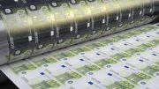 QE printing euros