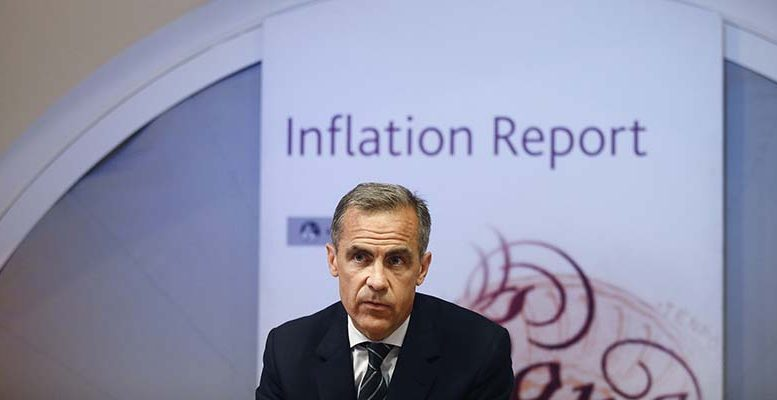 Bank of England keeps rates on hold, ups growth forecasts