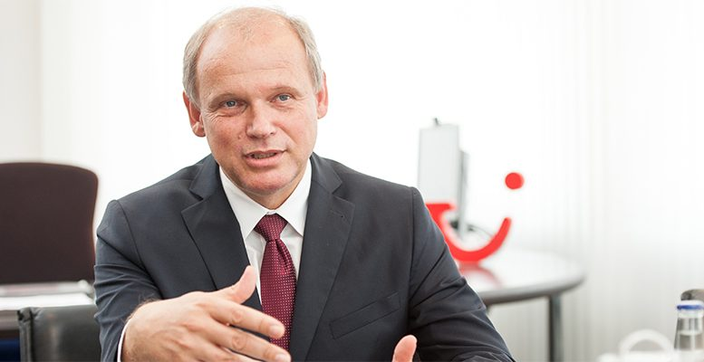 Sebastian Ebel, CEO of TUI Germay