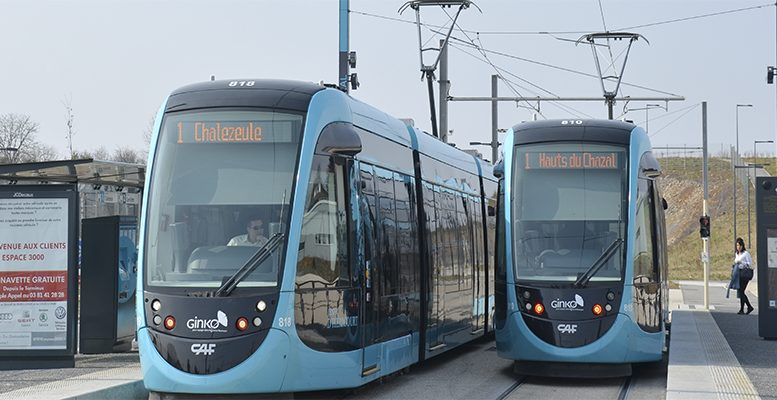 CAF's trams